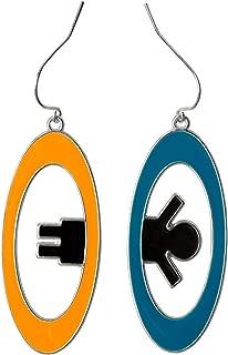 JINX Portal 2 Inter-Spatial Portal Earrings