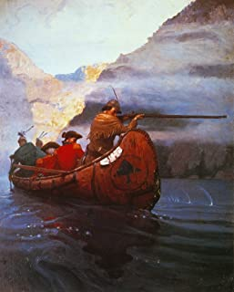 Last Of The Mohicans 1919 Nillustration By NC Wyeth From The 1919 Edition Of The Last Of The Mohicans By James Fenimore Co...