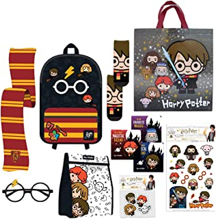 Harry Potter Showbag Gift Pack with Backpack Scarf Glasses Cooler Bag Show Bag for Kids Birthday Christmas Easter Fantasti...