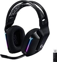 Logitech G733 Lightspeed Wireless Gaming Headset with...