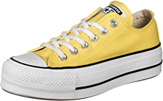 Converse CTAS Lift Ox Butter Plataforma Lona AMARILLA - Color - Amarillo, Nº de Pie - 36