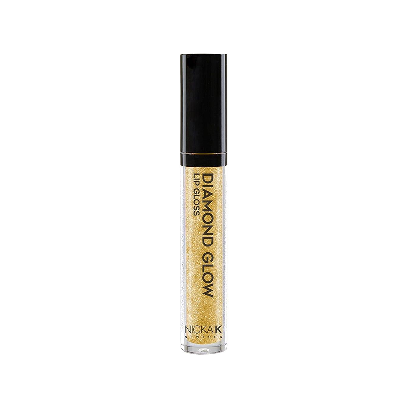 セッション実際あざNICKA K Diamond Glow Lip Gloss - Classy (並行輸入品)