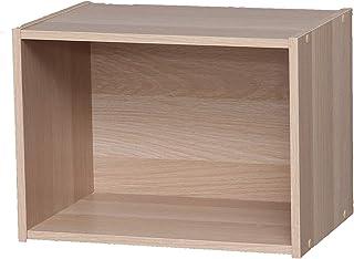 Marca Amazon - Movian Estantería 1 repisa de madera MDF Beige 41.5 x 29 x 30.5 cm