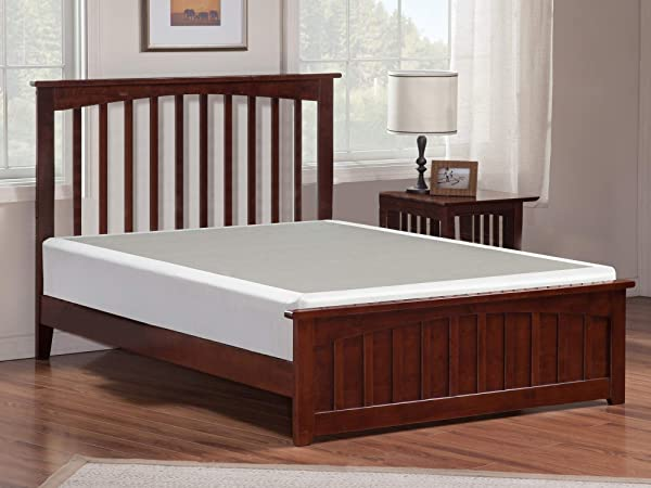 Mayton 4 Inch Full XL Size Box Spring Low Profile Mattress Foundation Strong Structure 53x79