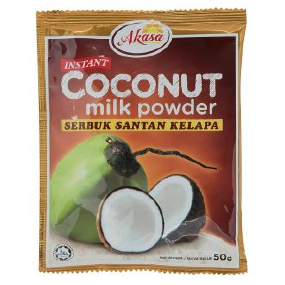 Akasa Instant Coconut Milk Powder 50g 628MART 2021new shipping free 20 sold out Packs
