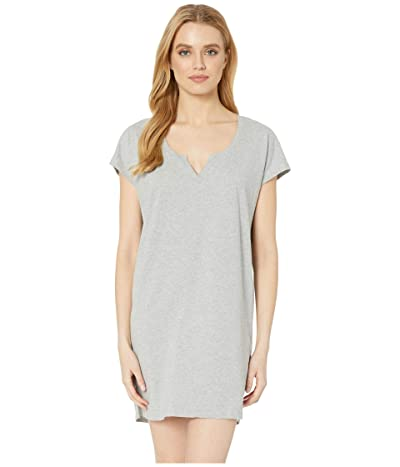 Skin Jessie Organic Cotton Sleepshirt (Heather Grey) Women