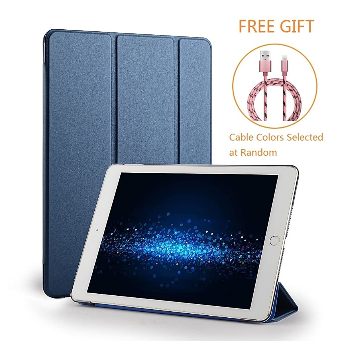 iPad Mini 3 Case Cover, CTsing Tri-fold Stand Case with Magnetic Auto Wake & Sleep Function for iPad Mini3/2/1(Not for Mini 4), Rose gold