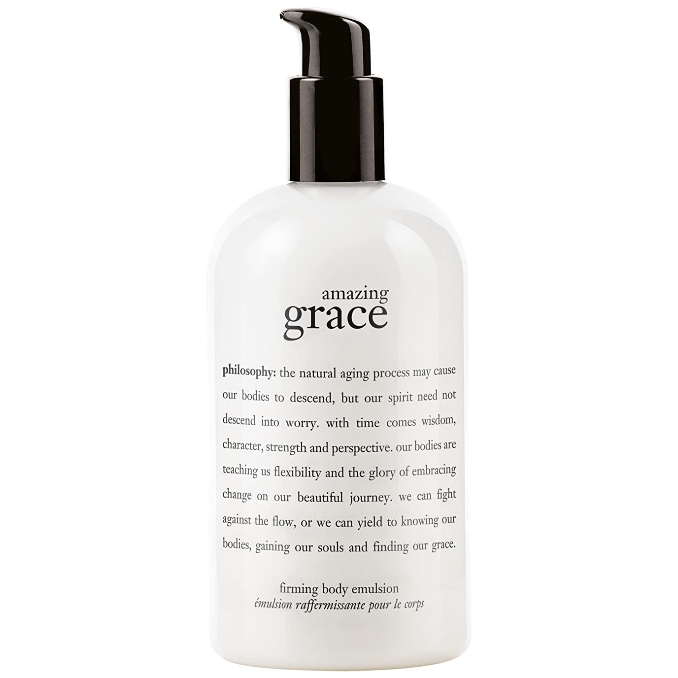アジテーション溶接フレキシブル哲学驚くべき恵み引き締めボディエマルジョン480ミリリットル (Philosophy) (x6) - Philosophy Amazing Grace Firming Body Emulsion 480ml (Pack of 6) [並行輸入品]