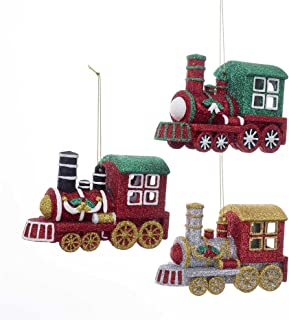 Kurt Adler YAMD3261 Ornament Set, 3 Piece