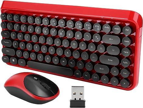 Ccylez Juego de Teclado y Mouse Multimedia Bluetooth, Juego ...