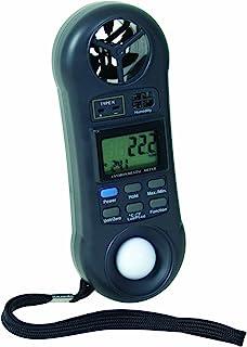 ابزارهای عمومی DLAF8000C 4 در 1 متر سنج هوا جریان محیطی با کیس