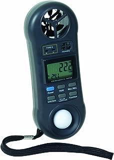 General Tools DLAF8000C 4 in 1 Environmental Air Flow Meter with Case