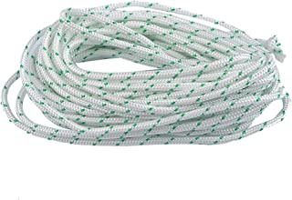 Hipa Recoil Starter Rope 10-Meter 6.0mm O.D Pull Cord for Husqvarna STIHL Sears Craftsman Poulan Briggs Stratton Lawn Mower Chainsaw Trimmer Edger Brush Cutter Engine Parts