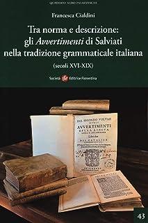 Tra norma e descrizione: gli «Avvertimenti» di Salviati nella tradizione grammaticale italiana (secoli XVI-XIX)