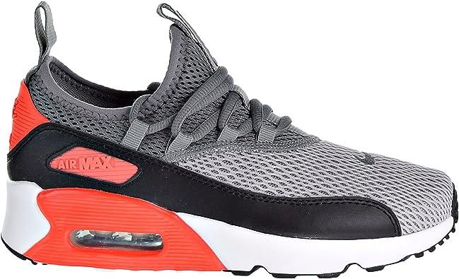 NIKE Air Max 90 EZ (GS) Boys Shoes Wolf Grey/Cool Grey/Black ah5211-002