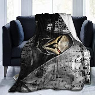 AENDers Ultra-Soft Micro Fleece Blanket Throw Super Soft Hypoallergenic Plush Bed Couch Living Room O_verwatch Reaper