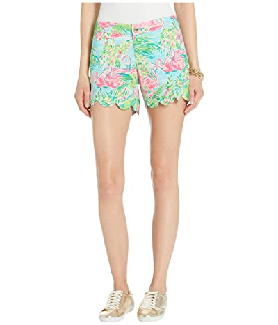 Lilly Pulitzer Buttercup Stretch Shorts (Multi Floridita) Women
