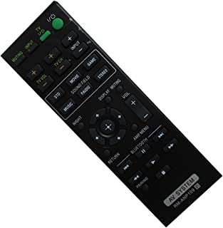 HCDZ Replacement Remote Control for Sony HT-CT660 HT-CT260 SA-CT770 SA-CT370 HT-CT370 SA-WCT370 2.1 Channel Surround Sound Bar with Wireless Subwoofer Home Theater System