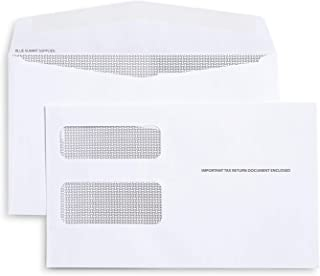 500 1099 MISC and 1099 NEC Tax Envelopes - Designed for Printed 1099 Laser Forms from Quickbooks or Similar Tax Software -...