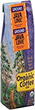The Organic Coffee Co Java Love- Ground 12 Ounce USDA Organic Premium Ground Coffee, For Use with At-Home Coffee Makers