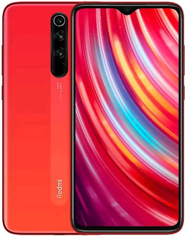 Xiaomi Redmi Note 8 Pro Smartphone,6GB RAM 64GB ROM Mobilephone,Pantalla Completa de 6.53,MTK Helio G90T Octa Core,Quad C/ámara 64MP + 8MP + 2MP + 2MP Naranja Versi/ón Global