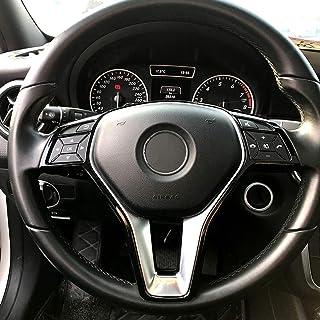 ABS Cromado Cubierta de botones de ajuste del asiento de pl/ástico Accesorios para W246 W212 218 W146 X204 X156 B E CLS GLA GLK Clase ML