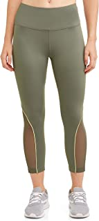 Women's Active Performance Capri Leggings (Teal Tundra Green)