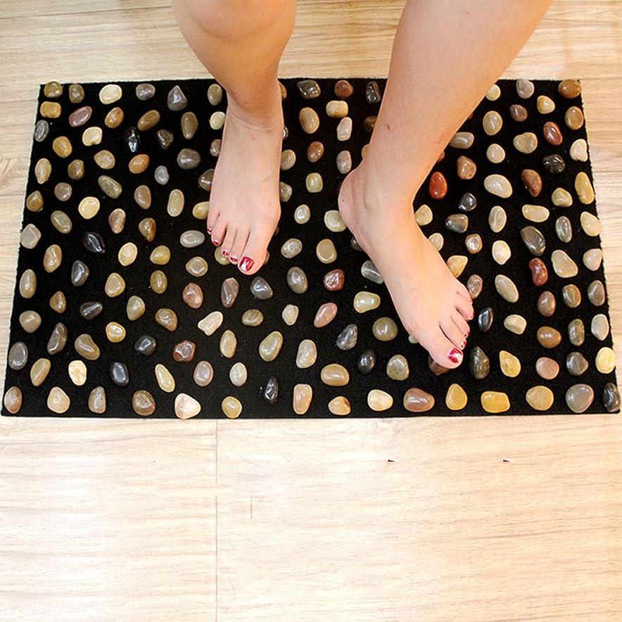 暗唱するかもめ群れ足つぼ マット マッサージシート マッサージ 足裏 健康 ツボ刺激 折りたたみ ウォーキングマット 足裏マット 本物の健康 フットマッサージ 足のマッサージパッド 模造石畳の歩道