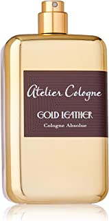 Cologne Gold Leather by Atelier for Unisex Eau de Cologne 200ml