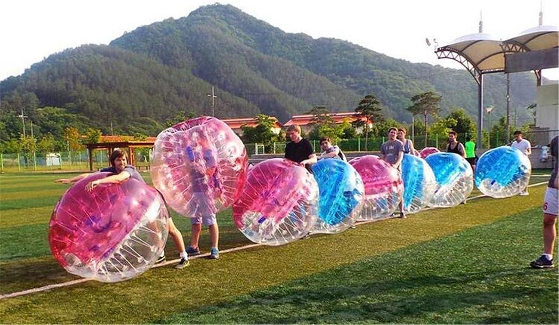 TTYY Bubble Ball Inflatable Toys TPU Backyard Outdoor Sport & Games Fun Coordination(Random color)