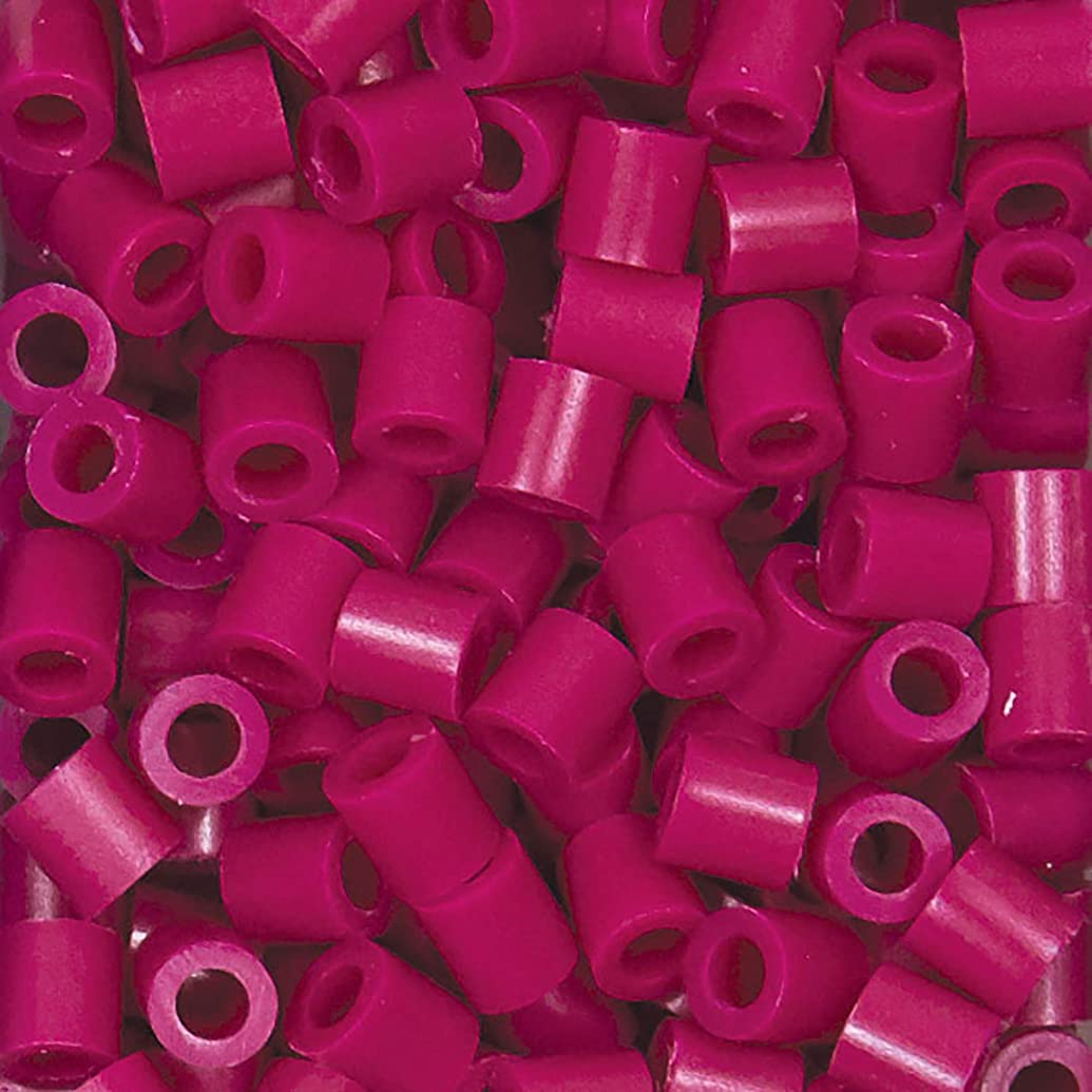 Perler Beads Fuse Beads for Crafts, 1000pcs, Raspberry Pink