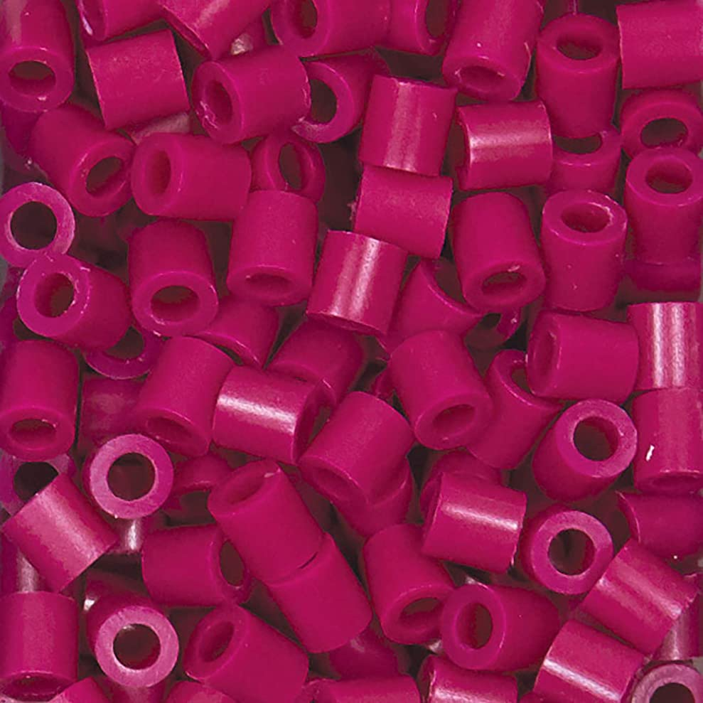 Perler Beads Fuse Beads for Crafts, 1000pcs, Raspberry Pink lmtwzxmdy6309