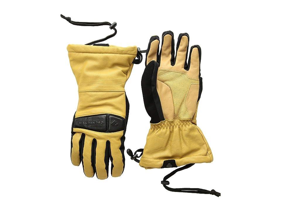 Obermeyer Eclipse Leather Gloves (Buckskin) Over-Mits Gloves