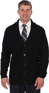 Men's Shawl Collar Knitted Regular Fit Cardigan