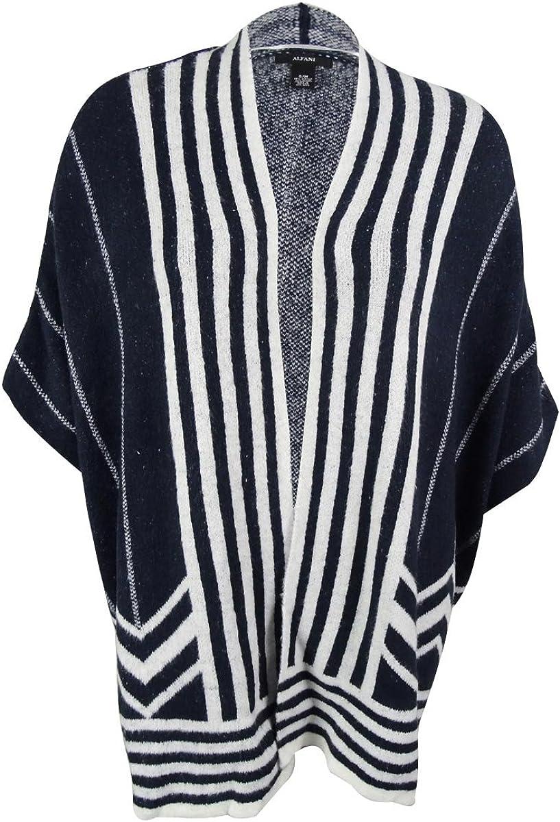 Alfani Women's Striped Cardigan Sweater
