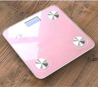 xianmu Accesorios Baño Organizador Báscula De Peso Corporal Báscula Inteligente Bmi Básculas De Piso Báscula De Vidrio LCD Báscula De Peso Balance Bluetooth Báscula De Composición Corporal