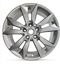 Road Ready Car Wheel For 2016-2019 Chevy Impala Full Size Spare 18 Inch 5 Lug Aluminum Rim Fits R18 Tire - Exact OEM Replacement - Full-Size Spare