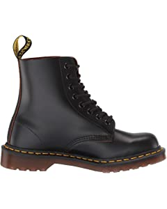Details about Dr Martens Made in England Vintage 1460 Oxblood Quilon Leather Boots size 7