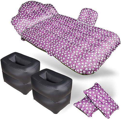 WGXY Voiture lit Gonflable de lit de Voyage Multi-Fonctionnel de lit d'air de Matelas s'assemblant Tissu d'Oxford Tour Coussin de Plage de Camping en Plein air, 6