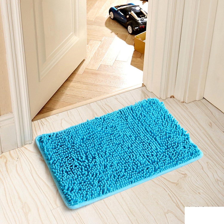 Floor mat Indoor mats in The Hall Bedroom Kitchen mats Bathroom Water-Absorbing Door mat Door mats-A 80x120cm(31x47inch)