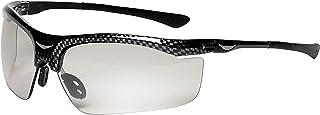 3M Smart Lens Protective Eyewear 13407-00000-5 Photochromatic Lens, Black Frame