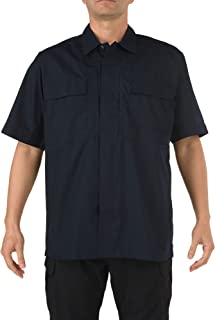 5.11 Tactical Men's TDU Short Sleeve Polo Shirt, Breathable and Treated Fabric, Style 71339T