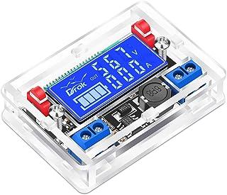 9V Voltage Regulator, DROK DC Buck Converter 5V-23V 12V to 0.01-18V 5V Power Supply Step Down Transformer Module, 3A LCD V...