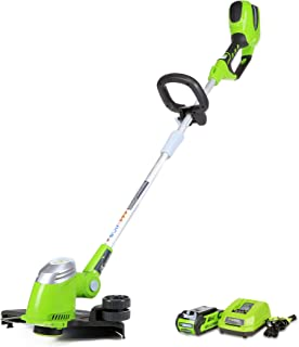 Greenworks 13-Inch 40V Cordless String Trimmer/Edger, 2.0 AH Battery Included 21302