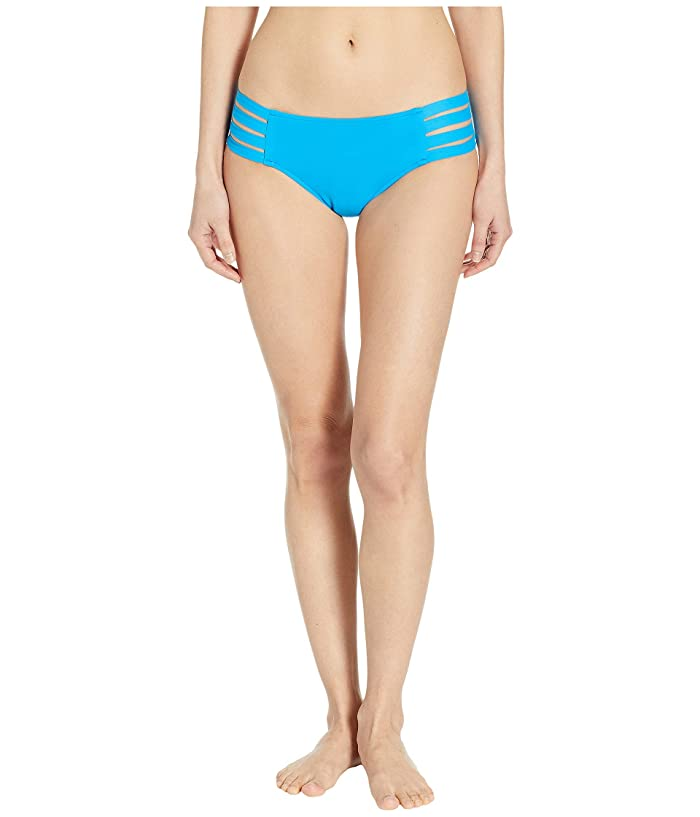 Seafolly Fastlane Active Multi Strap Hipster Bottoms (Electric Blue 1) Women