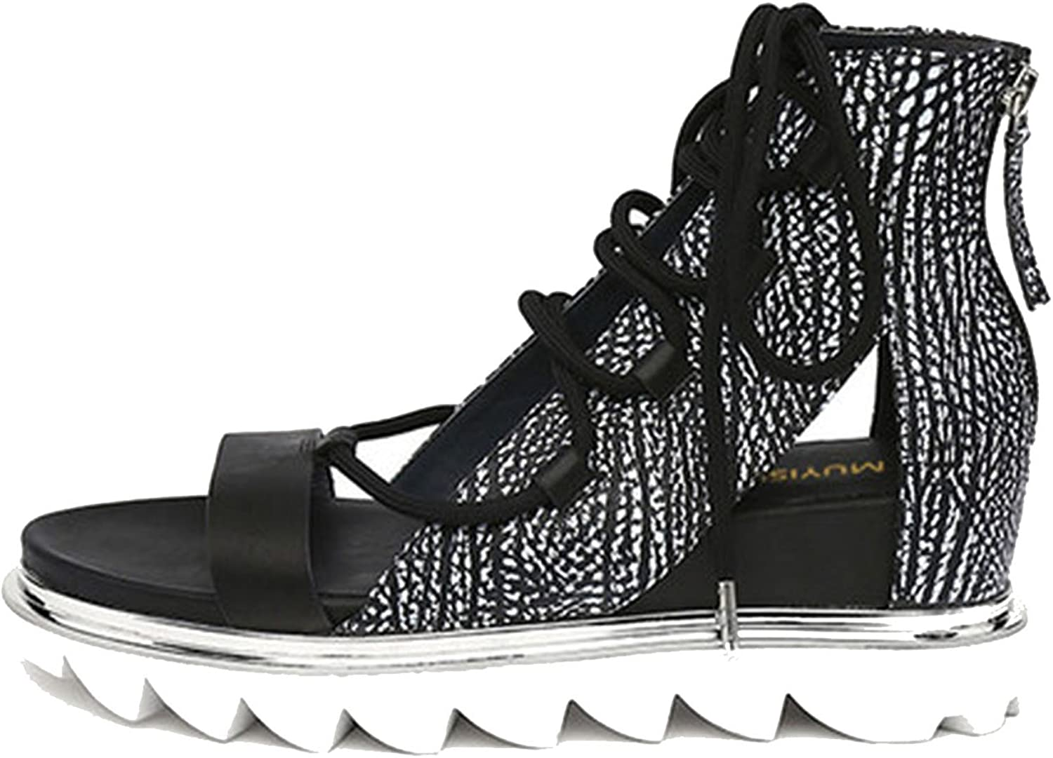 Running-sun Candy color Sandals Height Increasing Women Gladiator Sandal Platform Wedge Woman Creepers