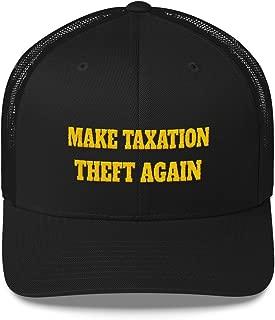 Make Taxation Theft Again Retro Trucker Cap