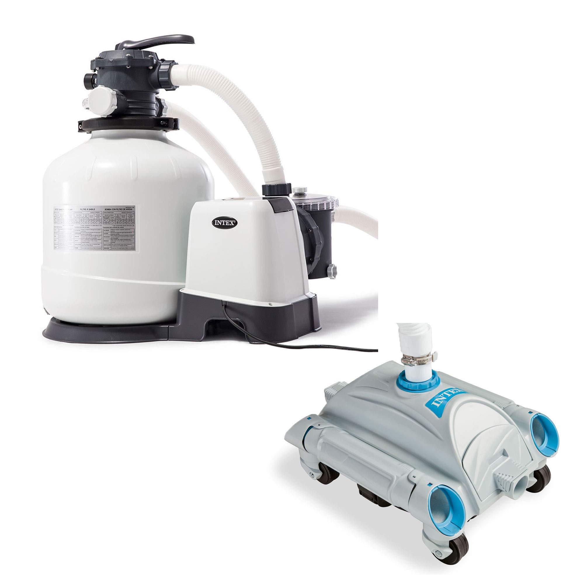 Intex Ground Filter Automatic Vacuum
