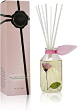 LOVSPA Parisian Garden Reed Diffuser and Scented Sticks Set - Ylang Ylang, Tuberose, Peony, Gardenia, Rose and Magnolia - Real Dried Flowers in The Bottle - Made in The USA