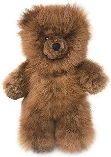 Baby Alpaca Fur Teddy Bear - Hand Made 12 Inch Honey